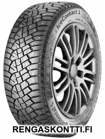 CONTINENTAL ICECONTACT 2 SIL 225/55R17 101T STUDDED XL