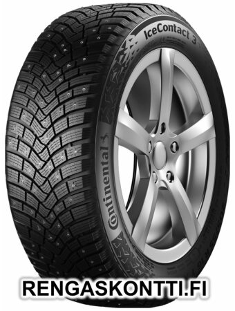 CONTINENTAL ICECONTACT 3 195/65R15 95T OUTLET STUDDED XL